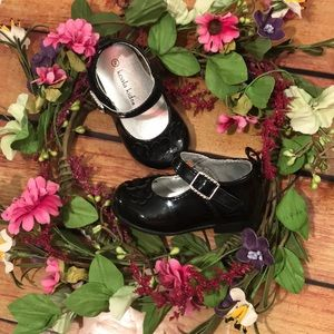 🆕 Koala Kids Black Dress Shoes size 2